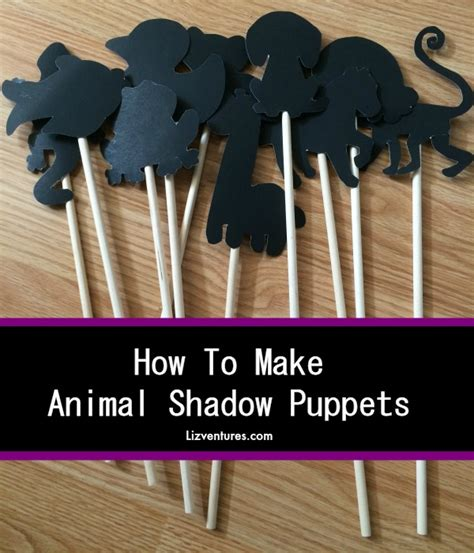 How To Make Paper Shadow Puppets - diy archives eat move make