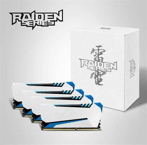 Ram Avexir Ddr3 Raiden Series Pc12800 8gb 2x4gb Dual Channel nuove ram avexir raiden series
