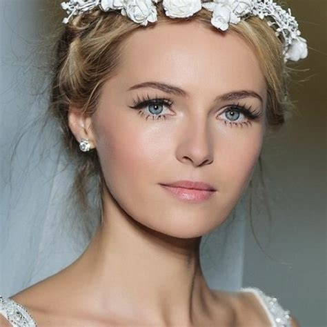 make up hochzeit 1001 ideen f 252 r braut make up was ist modern in 2017