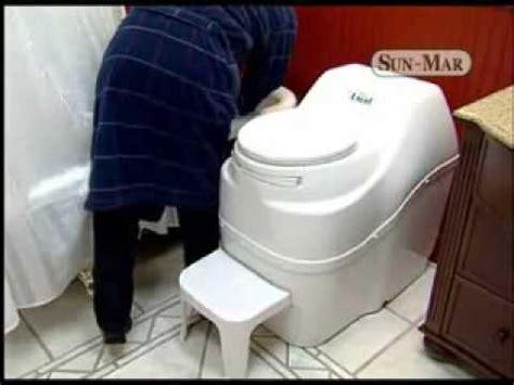 Toilet No Plumbing Required bio toilet videolike
