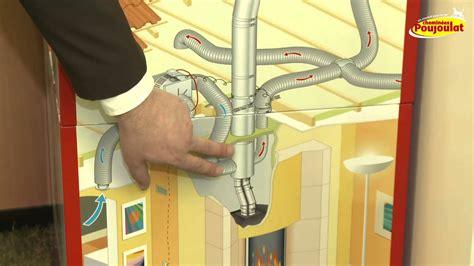 recuperateur air chaud cheminee distribution d air chaud confort insert et po 234 le 224 bois