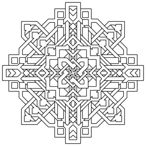 3d for adults coloring pages