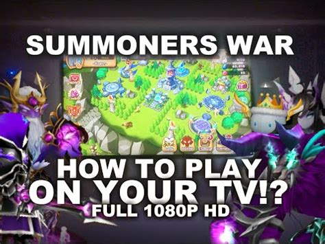 how to play war how to play summoners war on your tv full hdmi 1080p