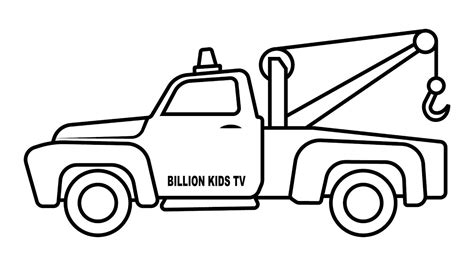 me a picture of a truck truck coloring pages bertmilne me