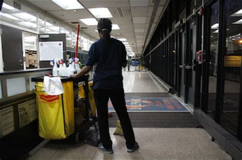 cps janitors worry about after aramark hired for building maintenance downtown chicago