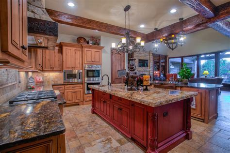 Kitchen: Excellent French Country Kitchen French Country