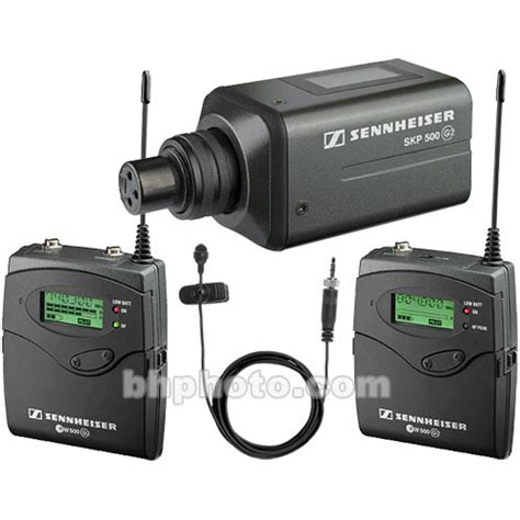 Microphone Wireless Mic Senheiser Ew 545 G2 sennheiser 500 g2 series wireless combo kit ew500engg2 b b h