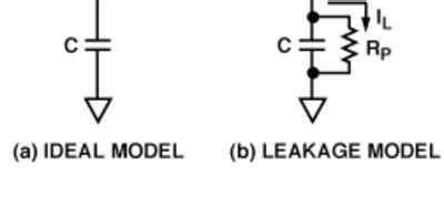 leakage resistance of a capacitor equation lab notes on capacitors analog devices wiki