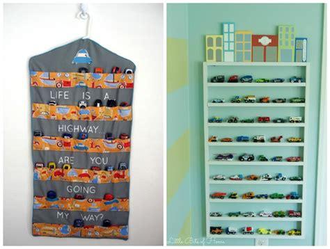 clever toy car storage ideas