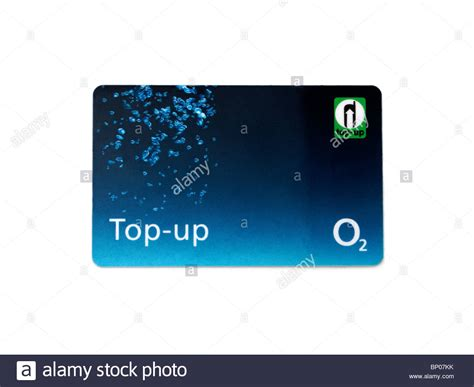 mobile top up pay as you go mobile phone top up card stock photo
