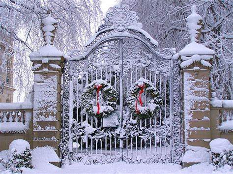 snow gate   christmas wreaths pictures   images  facebook tumblr