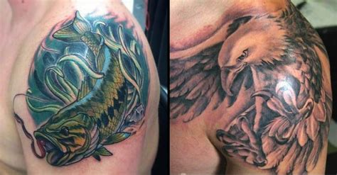 shoulder piece tattoos for men shoulder tattoos for guys