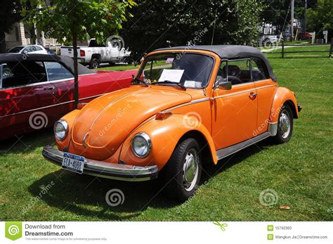 volkswagen beetle  antique car show editorial image image