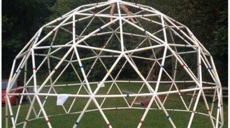 Home Depot Kitchen Design Software by Build A Pvc 20 Foot Functional Geodesic Dome Make