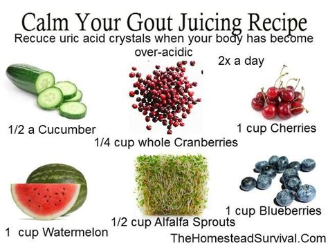 Detox Flare Up by Calm Your Gout Flare Up Juicing Recipe 187 The Homestead