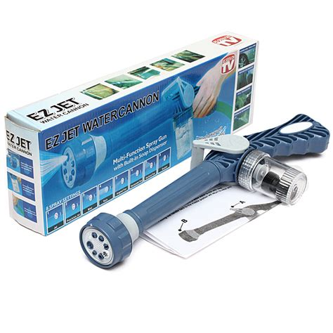 Q2 Acc Ez Jet Water Cannon Water Jet Canno Kode E3062 1 multifunction ez jet water cannon 8 in 1 turbo water spray