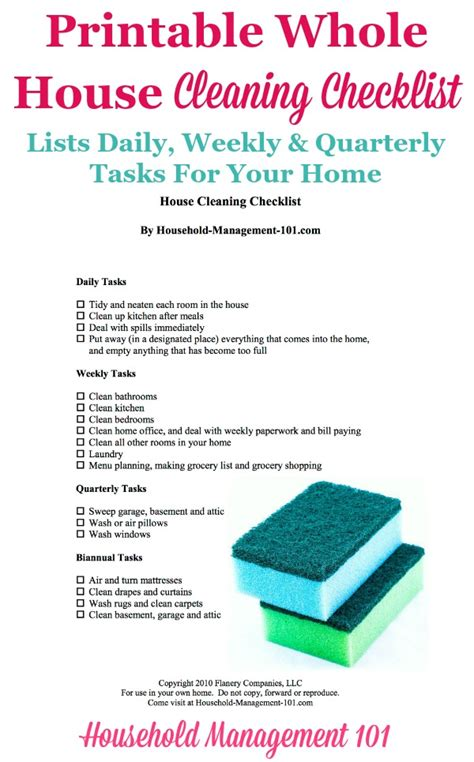 house cleaning house cleaning made easy how to clean printable whole house cleaning checklist how to keep your