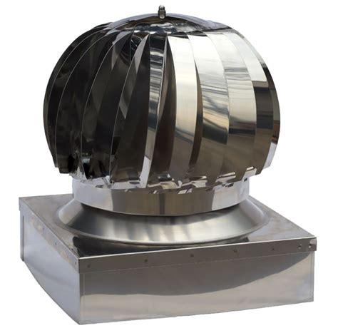 aspiratore per camino cappello per camino aspiratore fumi eolico inox 430 base