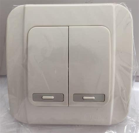 Broco Saklar Galeo broco galleo g161 55s saklar seri putih listrik murah