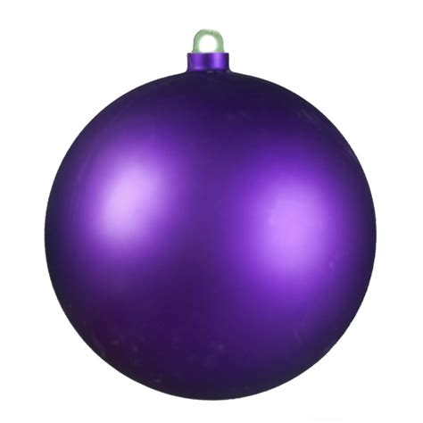 matt purple shatterproof bauble 170mm baubletimeuk
