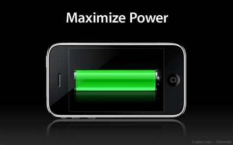 how to maximize your iphone 3g s questionably adequate battery