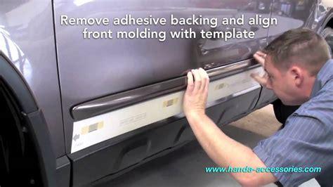 List Chrome Pintu Honda Hrv crv side molding installation honda answers 6