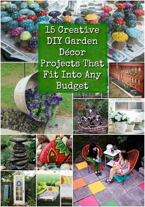 creative diy garden decor projects  fit