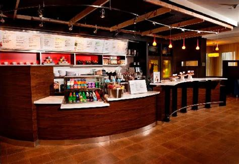 the bistro a novel bistro bakery display picture of courtyard by marriott
