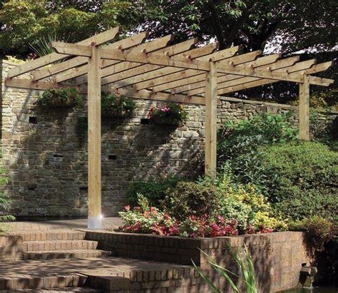 grange lean to car port pergola gardensite co uk