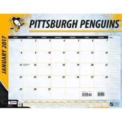 Pittsburgh Penguins 22 Quot X 17 Quot Calendrier De Bureau Shop Calendrier De Bureau