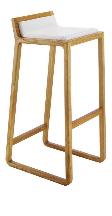 joe taburetes de bar blanco piel madera muebles en
