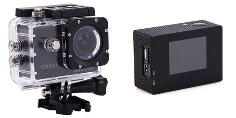 Gopro Sjcam 4000 Three Entry Level Gopro Type Cameras Reviewed Pretzel Logix
