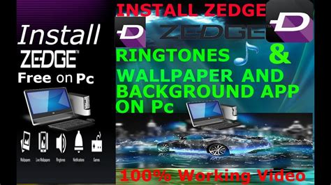 zedge ringtone app  pc  youtube