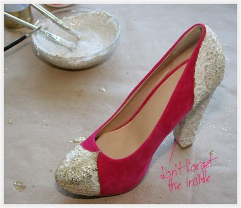 diy sparkly shoes diy glitter shoes 183 how to decorate a pair of glitter