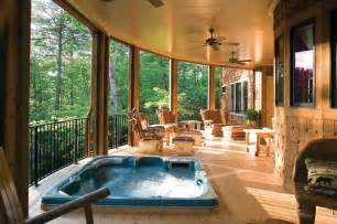 back covered porch tub tub ideas pinterest