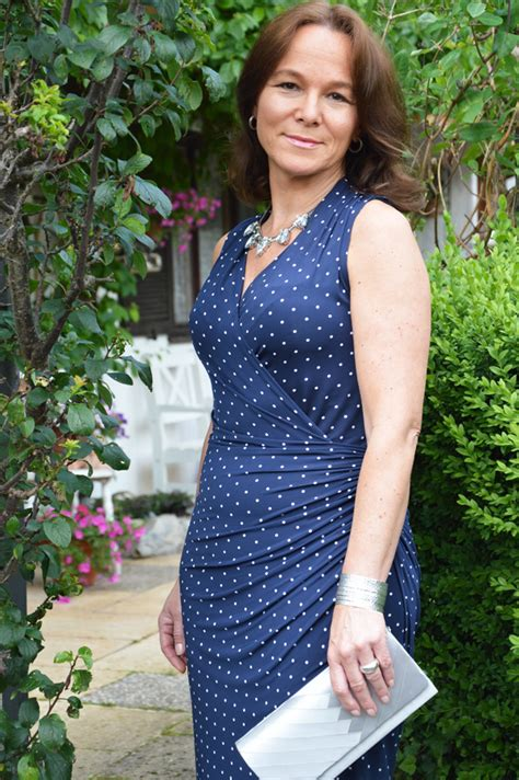 dresses for 45 years old women polka dots and wrap dress lady of style