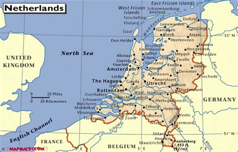 map netherlands and denmark netherlands