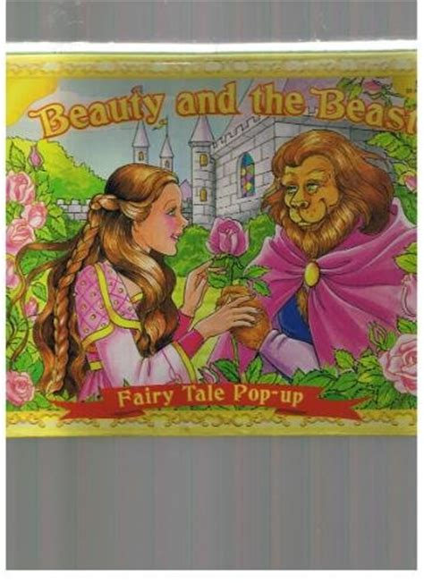 the beast picture book and the beast tale pop up book 1999