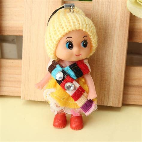 doll keychain buy confused doll phone bag pendant plush doll keychain