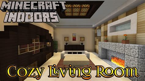 minecraft interior design living room minecraft indoors interior design cozy living room fiona andersen