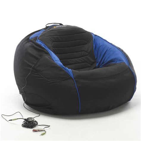 x rocker bean bag gaming chair x rocker gamebag 2 0 surround sound gaming chair
