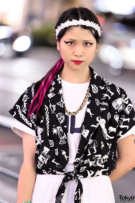 Mascara Harajuku harajuku w cat eye makeup resale fashion