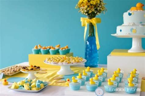 Yellow Duck Baby Shower Decorations by Rubber Ducky Susty