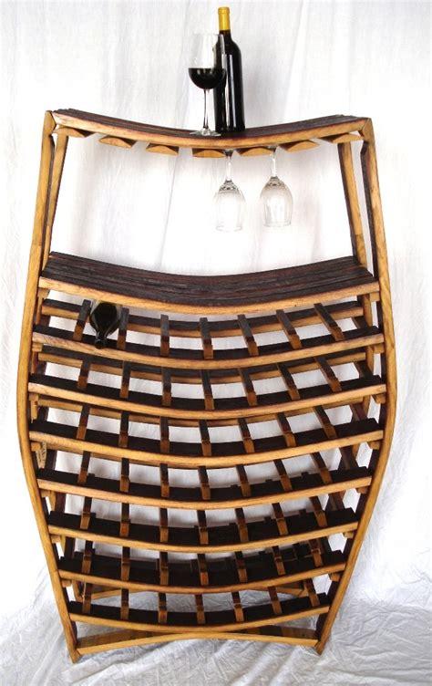 big wine barrel rack 100 recycled napa barrels