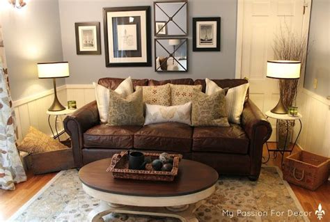 leather couch decor best 25 brown couch decor ideas on pinterest living