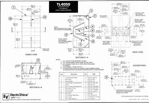 Electro Voice 18 Cabinet Plans