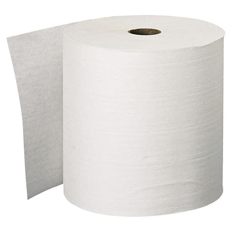 How To Make A Paper Towel - kleenex white roll towel 1 ply 6 pack kcc11090
