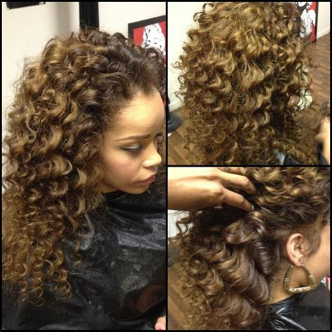 brazzilian weaving styles curly sew in hairstyle i love this hairstyle quot jus