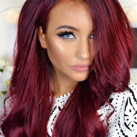 hair color hair styles on pinterest 154 pins vibrant red hair color see this instagram photo by
