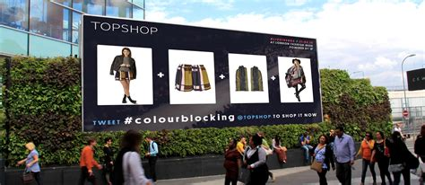 Topshop Grid livetrends and topshop democratise fashion in
